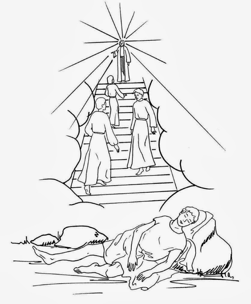 jacob bible coloring pages - photo#20