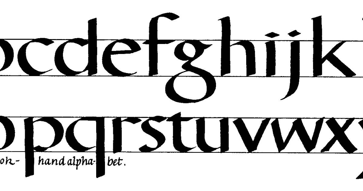 Margaret Shepherd: Calligraphy Blog: 142 Heavy Bookhand