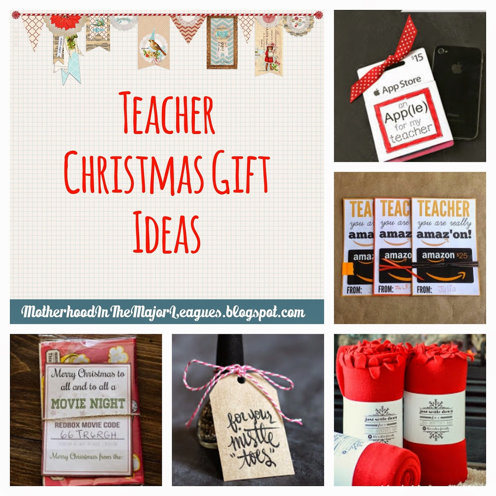 Classroom Keepsake Ideas ~ Motherhood in the major leagues teacher christmas gift ideas