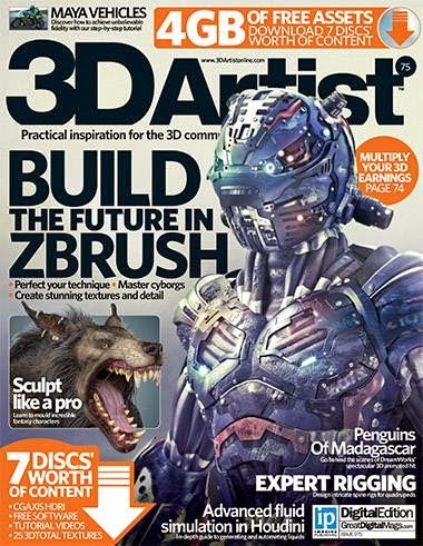 3D Artist Magazine Issue 75 2015