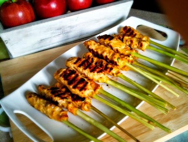 Resep Masakan Sate Lilit Serai