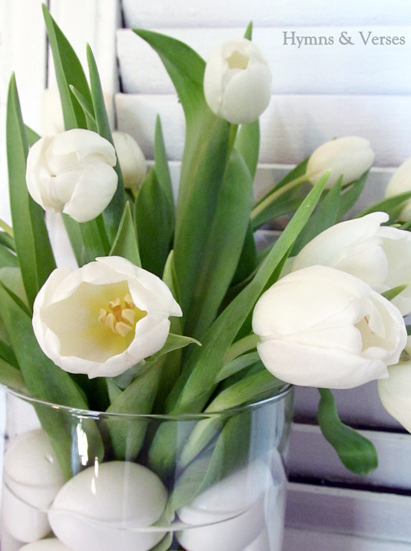White tulips — Stock Photo © natlit #42516021