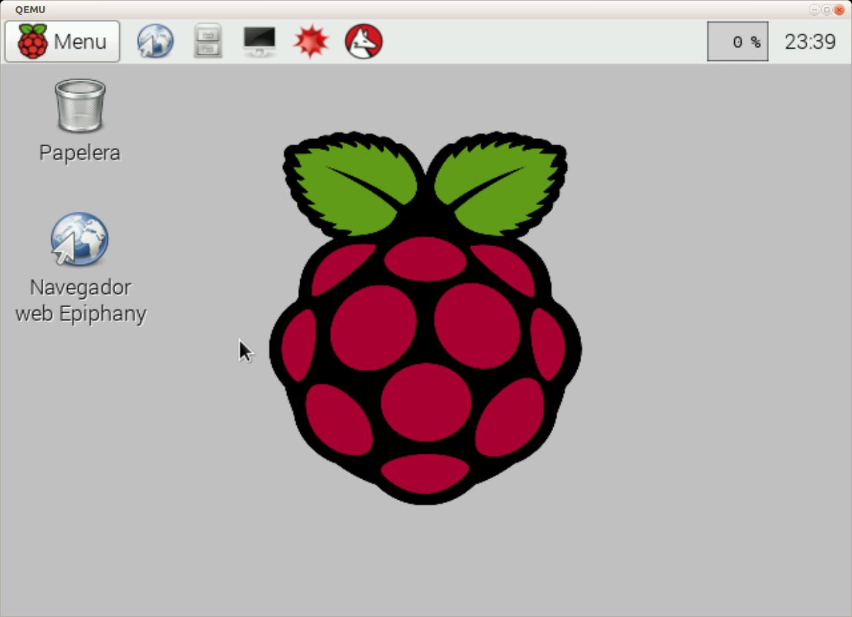 Raspberri Pi virtualizada con qemu en Ubuntu 14.04