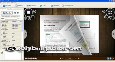 3D PageFlip Professional 1.6.8 Full Crack