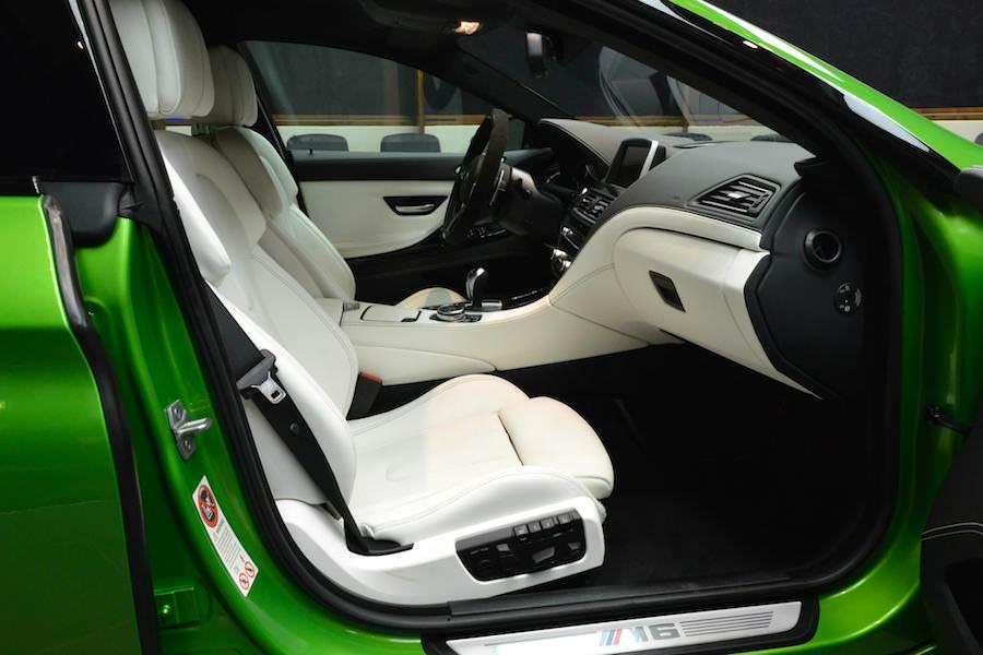 アブダビのBMWディーラーが手掛けたグリーンの「BMW M6グランクーペ」