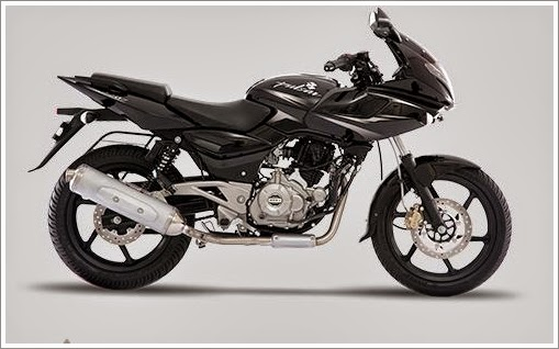 Bajaj Pulsar Ebony Black Colour