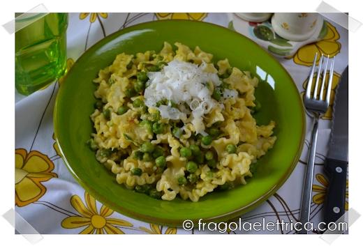 Pasta Piselli e Uova (Foto Ricetta)