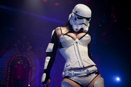 sexy storm trooper breasts