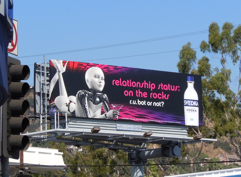 Svedka relationship status billboard