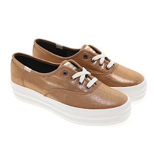 The Triple Bronze sneakers from Keds