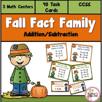Fall Fact Family Addition and Subtraction