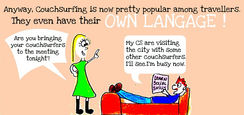 The crazy history of history couchsurfing what for Couch surfing