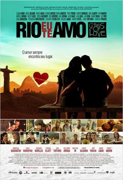 """Poster do filme """"Rio, Eu Te Amo"""""""
