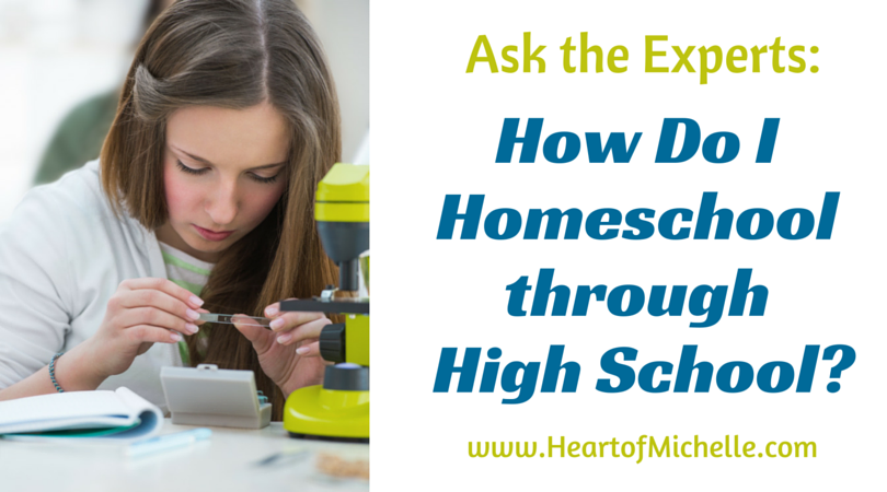 An excellent list of resources for homeschooling high school.