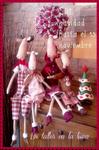 Sal Navidad familia de renos