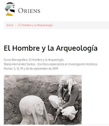 Curso Monográfico: El Hombre y la Arqueología.