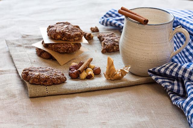 Integralni ovseni keks sa lješnjacima