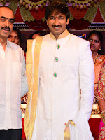 Gopichand Reshma Wedding Reception photos stills gallery-cover-photo