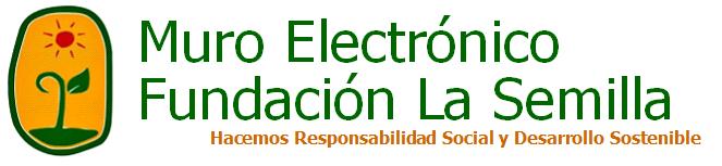 Mural electrónico Fundación La Semilla