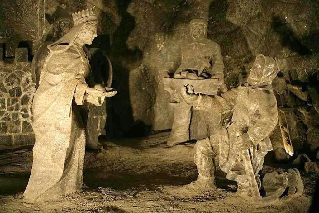 Santa Cunegunda na mina de sal de Wieliczka