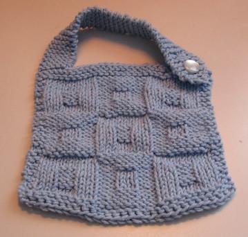 Star Bib pattern - Knitting - Learn to Knit - Knitting Patterns