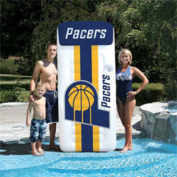 Indiana Pacers NBA Giant Mattress Pool Float