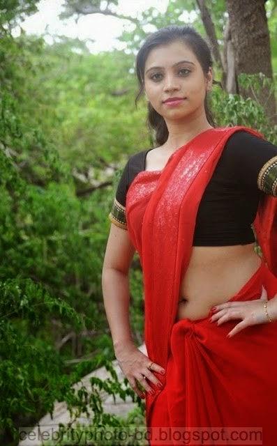 Actress%2BPriyanka%2BNair%2BRed%2BSaree%2BStills%2BSpicy%2BHot%2BPhotos004
