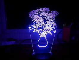 Đèn Led 3D 7 Màu - Nhiều Mẫu Đẹp