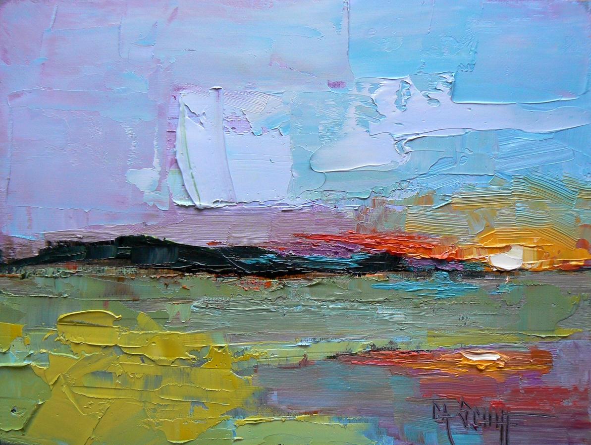 Daily Painting Uk Acrylic Landscape