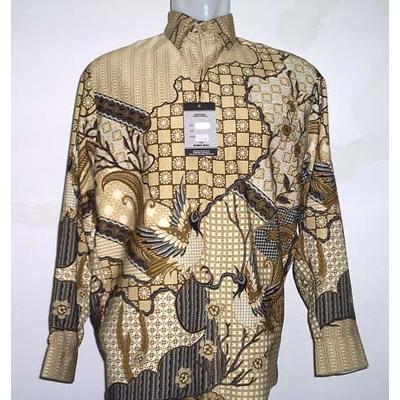Baju Batik Pria Trendy 04 : www.omdani.us