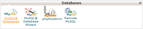 create Mysql database in cpanel