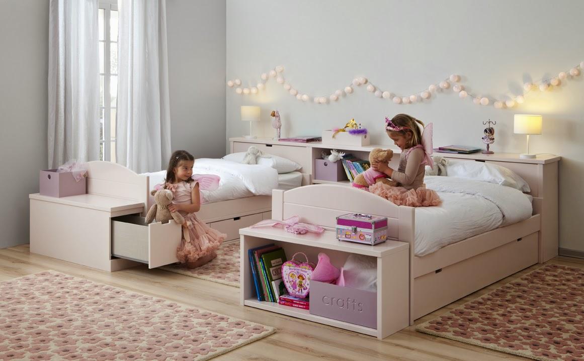 Dormitorios juveniles e infantiles roomplanner de asoral for Camas gemelas juveniles