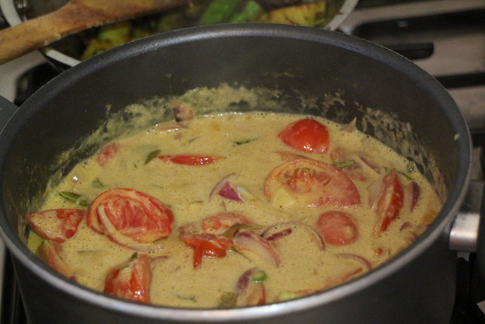 Home cooking sri lankan rice and curry 6 dishes plus rice more sri lankan by cooking the tomatoes in a coconut milk curry sauce with onions and curry leaves the acidity of the tomatoes is great against the forumfinder Choice Image