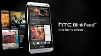 HTC One BlinkFeed