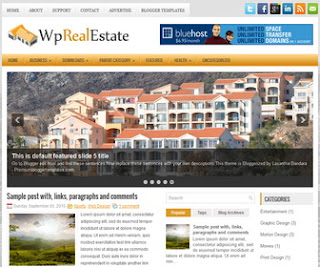 WpRealEstate-Blogger-Template