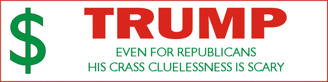 Sane people and anyone not named donald trump i feel it is best to start off with a series of trump related bumper stickers to share and enjoy