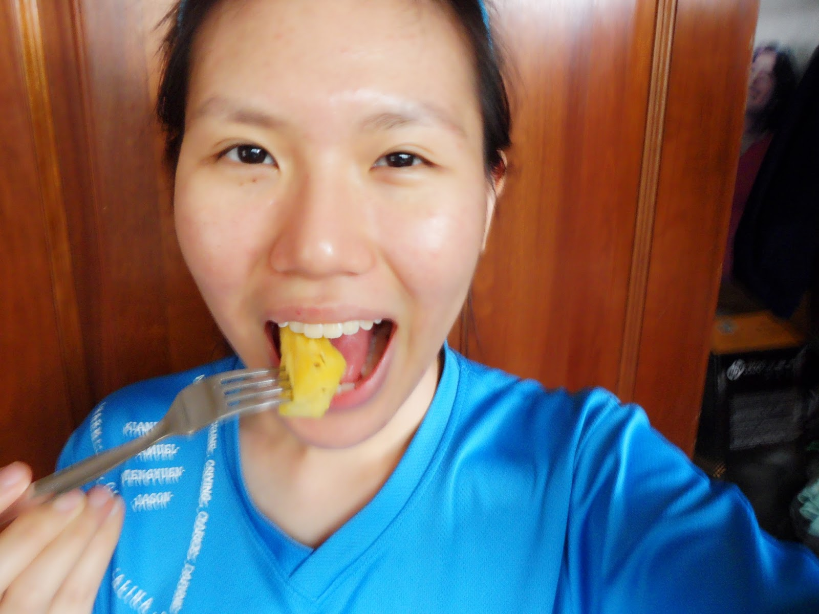 Skincare exfoliate with enzymes diy pineapple face mask cindity i was left with the last slice when i finally thought of masking my face now its official home pampering time how does pineapple masks work solutioingenieria Choice Image