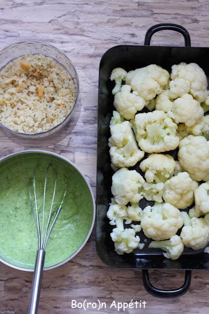Zapiekanka z kalafiora i brokuła