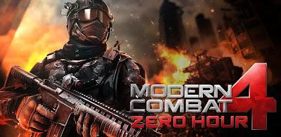 Modern combat 4: Zero Hours free download