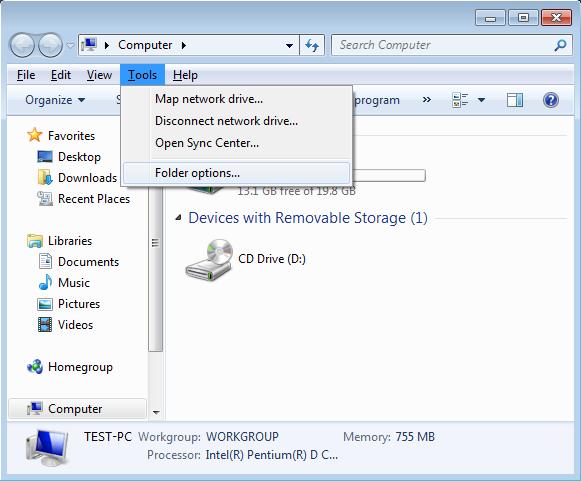 windows 7 how to change hibernate folder