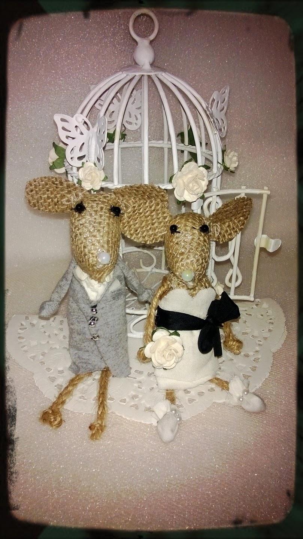 Boogie Babies Wedding Cake Topper