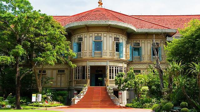 dat ve may bay di bangkok Cung điện Vimanmek