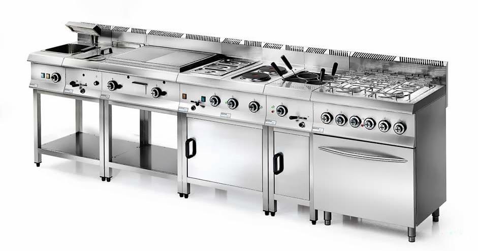Degart forniture di attrezzature e macchinari per ristorante degart arredamento progettazione - Cucine industriali usate ...