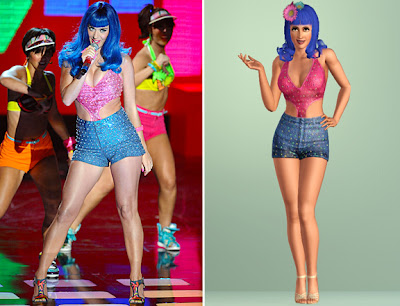 The Sims 3 Katy Perry Mundo Doce (Sweet Treats) - MMA 2010