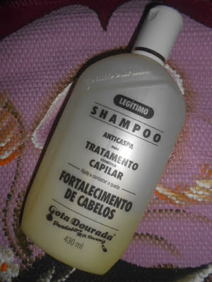 :Shampoo de Fortalecimento Capilar Gota Dourada