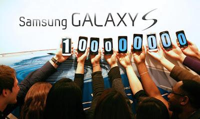 Galaxy S series smartphones 100 million