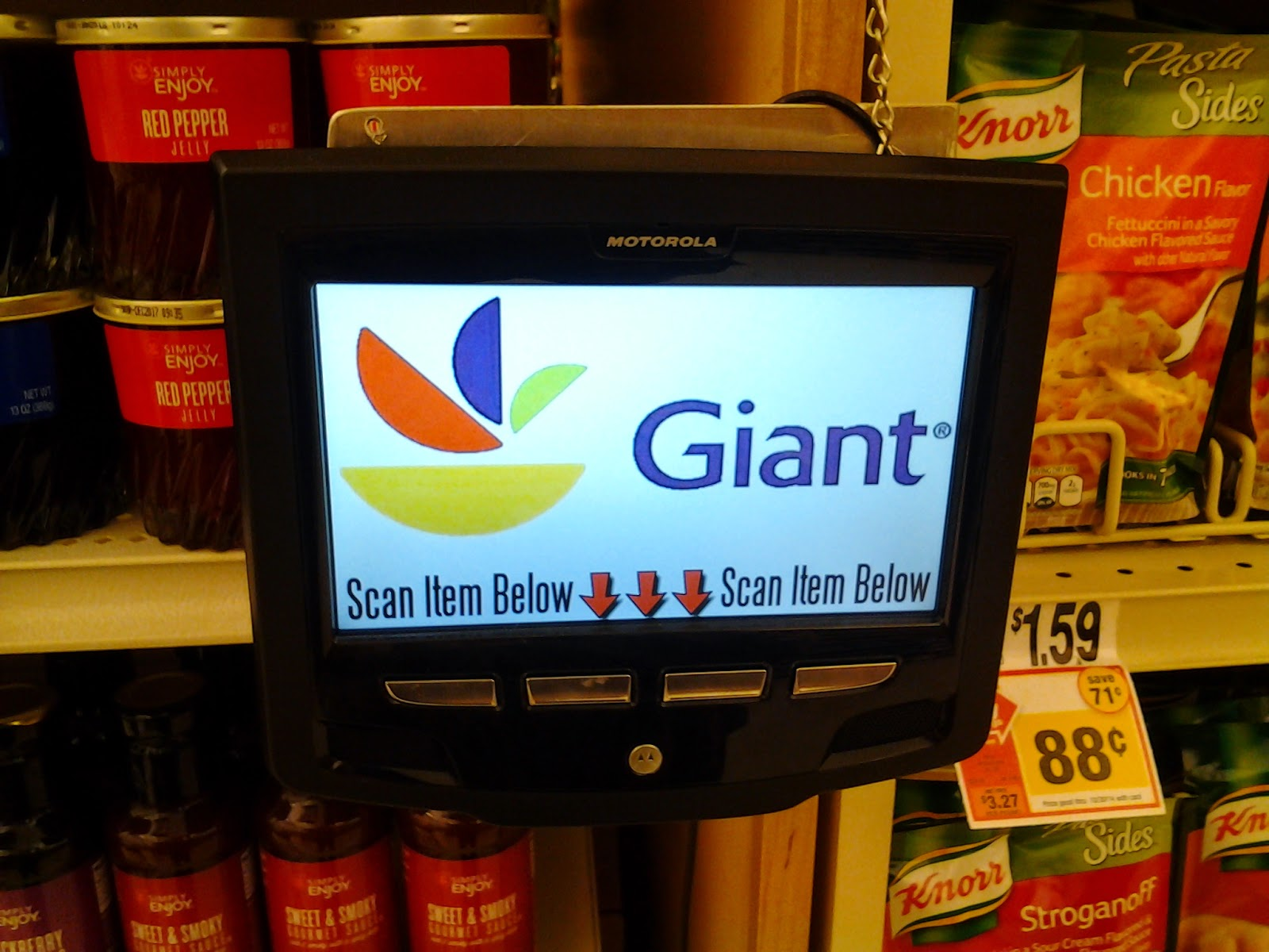 Giant price scanner