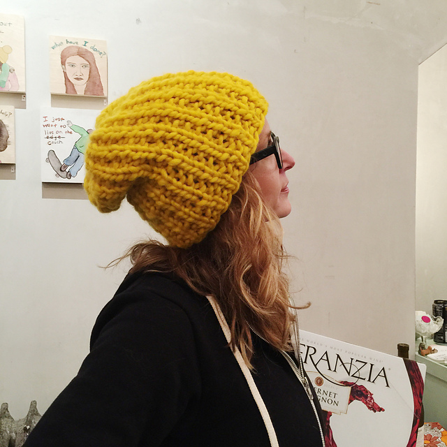 FRANZIA HAT PATTERN