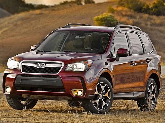 Japanese car photos 2014 Subaru Forester US-Version  -