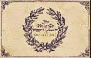 Selo Versatile Blogger Award